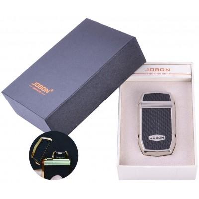 Электроимпульсная зажигалка в подарочной упаковке Jobon (USB) №XT-4963-1