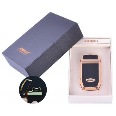 Электроимпульсная зажигалка в подарочной упаковке Jobon (USB) №XT-4963-3