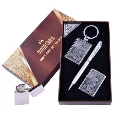 Подарочный набор Орел Ручка/ Брелок/ Зажигалка №AL-203C-2