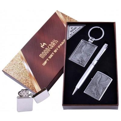 Подарочный набор Орел Ручка/ Брелок/ Зажигалка №AL-203C-3
