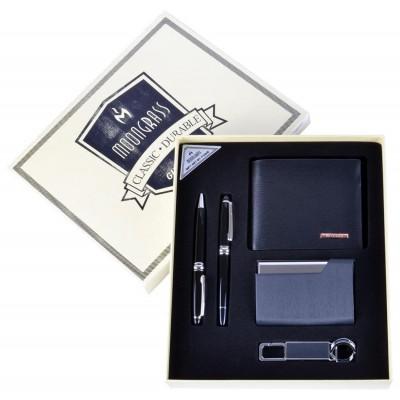 Подарочный набор Moongrass Портмоне/ Визитница/ Брелок/ Ручка №NB-053