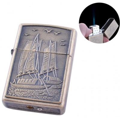 Зажигалка газовая Лодка (Острое пламя) №140-2-3