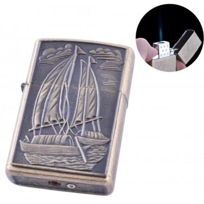 Зажигалка газовая Лодка (Острое пламя) №140-2-4