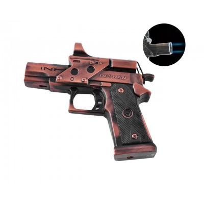 Зажигалка газовая пистолет Deshan (Турбо пламя) №XT-4048