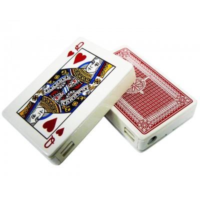 Зажигалка карманная карты (обычное пламя) №2562