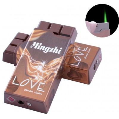 Зажигалка карманная Шоколад Love (Турбо пламя) №2376-4