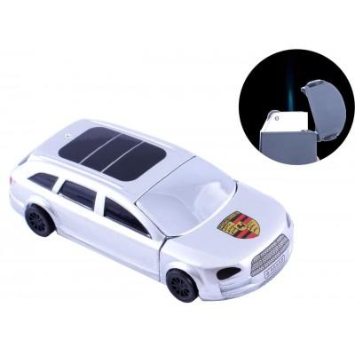 Зажигалка кремниевая Porsche Cayenne (Острое пламя) №4448 Silver