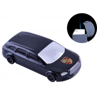 Зажигалка кремниевая Porsche Cayenne (Острое пламя) №4448 Black