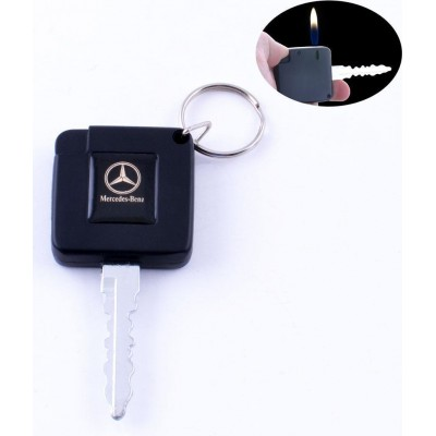 Зажигалка карманная ключ авто Mercedes-Benz (обычное пламя) №2088-3