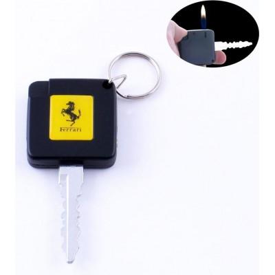 Зажигалка карманная ключ авто Ferrari (обычное пламя) №2088-4
