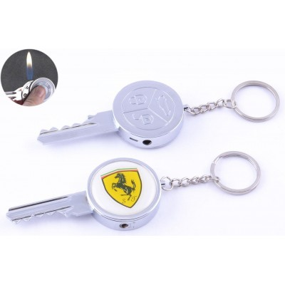 Зажигалка-брелок карманная Ключ от Ferrari №4160-6