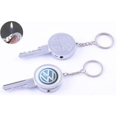 Зажигалка-брелок карманная Ключ от Volksvagen №4160-7