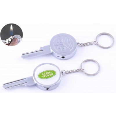 Зажигалка-брелок карманная Ключ от Land Rover №4160-8