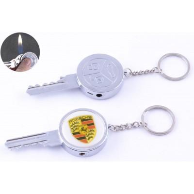 Зажигалка-брелок карманная Ключ от Porsche №4160-9