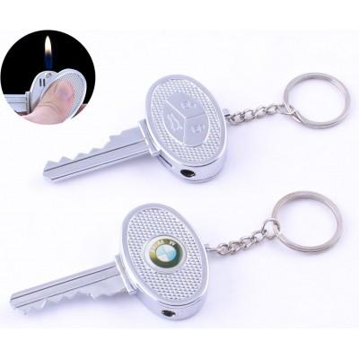 Зажигалка карманная ключ авто BMW (обычное пламя) №4202-2