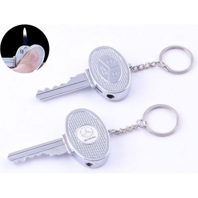 Зажигалка карманная ключ авто Mercedes-Benz (обычное пламя) №4202-4