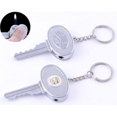 Зажигалка карманная ключ авто Honda (обычное пламя) №4202-5