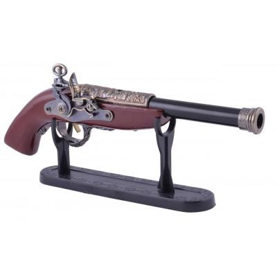 Зажигалка сувенирная мушкет (Турбо пламя) №4421