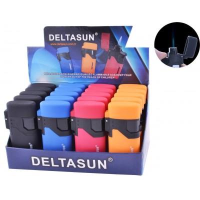 Зажигалка пластиковая DELTASUN (турбо пламя) №888-18
