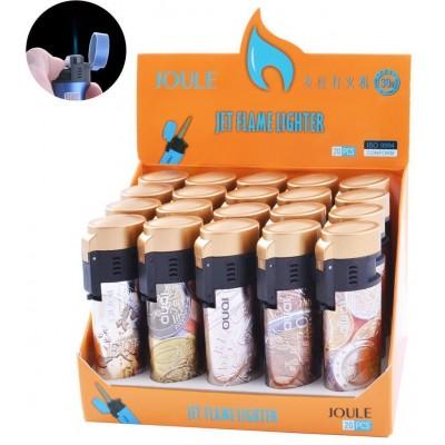 Зажигалка пластиковая EURO (Турбо пламя) №5001
