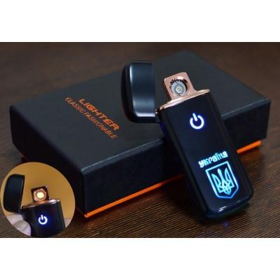 USB зажигалка в подарочной коробке Украина №HL-120