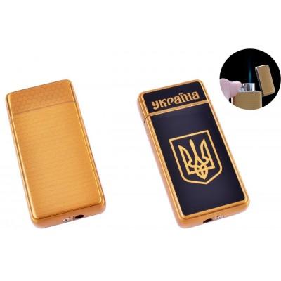 Зажигалка карманная Украина (Острое пламя) №HL-124