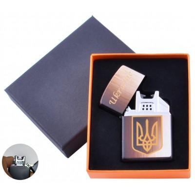 Электроимпульсная зажигалка Украина (USB) №HL-146-1
