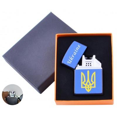 Электроимпульсная зажигалка Украина (USB) №HL-146-2