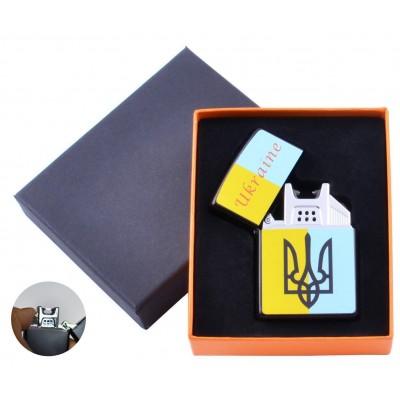 Электроимпульсная зажигалка Украина (USB) №HL-146-3