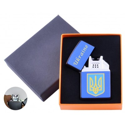 Электроимпульсная зажигалка Украина (USB) №HL-146-4