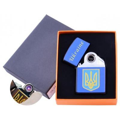 Электроимпульсная зажигалка Украина (USB) №HL-145-2