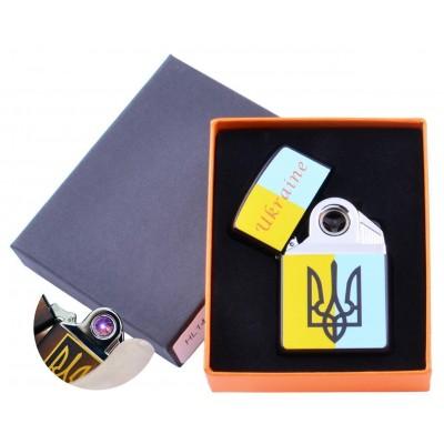 Электроимпульсная зажигалка Украина (USB) №HL-145-3