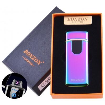 Электроимпульсная зажигалка в подарочной коробке Lighter (USB) №5009 Хамелион