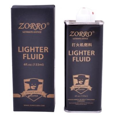 Бензин для заправки зажигалок 133 мл Zorro №HL-160