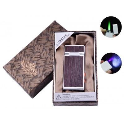 Зажигалка в подарочной коробке с фонариком LIGHTER (Турбо пламя) №XD-5