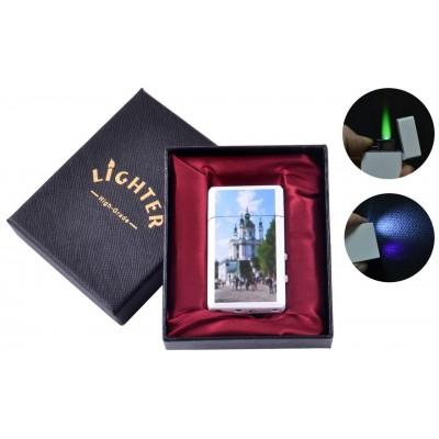 Зажигалка в подарочной упаковке Андреевская Церковь (Турбо пламя) №UA-8-10