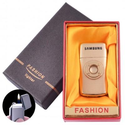 Зажигалка кремневая в подарочной коробке FASHION (Обычное пламя) №XT-89 Gold
