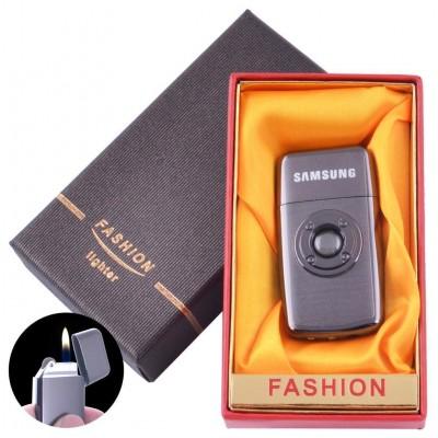 Зажигалка кремневая в подарочной коробке FASHION (Обычное пламя) №XT-89 Black