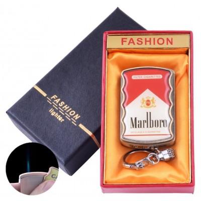 Зажигалка-брелок в подарочной коробке Marlboro (Острое пламя) №XT-92-3