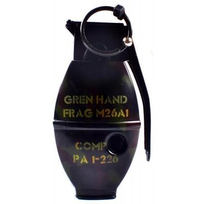 Зажигалка газовая Граната №4457-3
