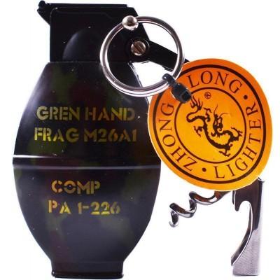 Зажигалка газовая Граната №4459-3