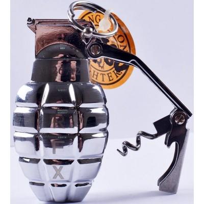 Зажигалка газовая Граната №4460-1