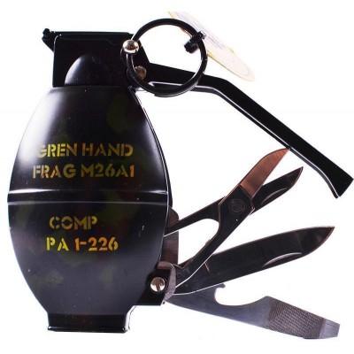Зажигалка газовая Граната №4462-3