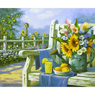 Картина по номерам 'Натюрморт' 40*50см,крас.-акрил,кисть-3шт арт.:5294