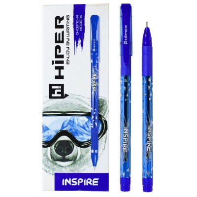 Ручка масляная синяя HO-115