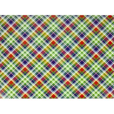 Мелованная бумага - шотландка, Unison,   PVM10-102 арт.:PVM10-102