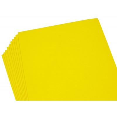 Фоамиран 2мм желтый -10листов,8967 арт.:8967