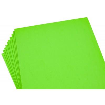 Фоамиран 2мм светло-зеленый  -10листов, 8970 арт.:8970