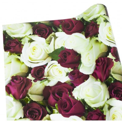 Мелованная бумага - розы, Unison,   PVM10-118 арт.:PVM10-118