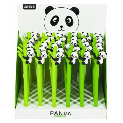 Ручка детская, 0,7мм, синяя, панда , Unison,  ZF1750 арт.:ZF1750